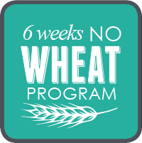 6 Weeks No Wheat Logo
