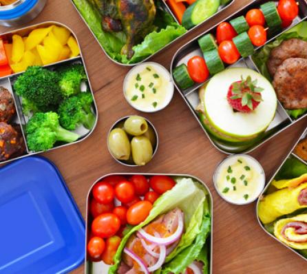 Paleo gluten free school lunchbox
