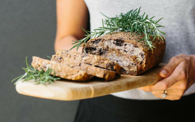 Recipe – Rosemary and Olive Buckwheat Bread