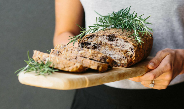 Recipe – Rosemary and Olive Buckwheat Bread