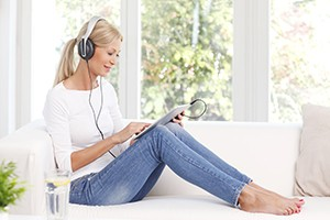 Relaxing-with-music